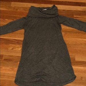 Super soft olive light sweater dress